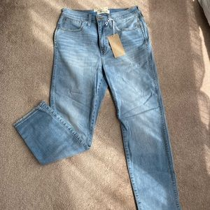 NWT Madewell Stovepipe Jeans in Venice Wash